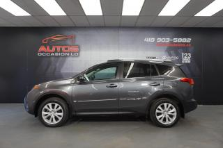 Used 2015 Toyota RAV4 AWD LIMITED CUIR TOIT GPS NAVI CAMERA BLUETOOTH !! for sale in Lévis, QC