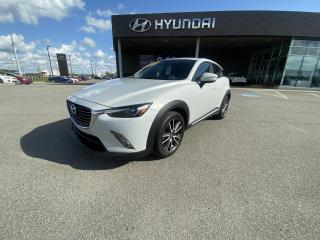 Used 2016 Mazda CX-3 AWD,GT,CUIR / SUÈDE, TOIT, CAMÉRA, BANCS CHAUFF. for sale in Mirabel, QC