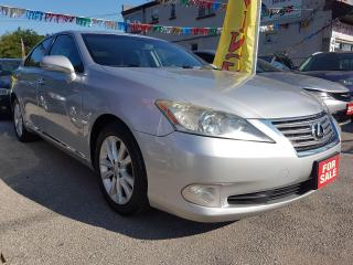 Used 2010 Lexus ES 350 EXTRA CLEAN-LEATHER-SUNROOF-BLUETOOTH-AUX-ALLOYS for sale in Scarborough, ON