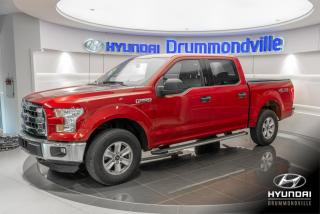 Used 2015 Ford F-150 XLT 4X4 + GARANTIE + CAMERA + A/C + MAGS for sale in Drummondville, QC