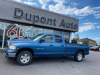 Used 2004 Dodge Ram 1500 4 portes Cabine Quad empattement de 160 for sale in Alma, QC