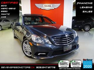 Used 2010 Mercedes-Benz E-Class E550 4MATIC | CERTIFIED | AMG | FINANCE @ 4.65% for sale in Oakville, ON