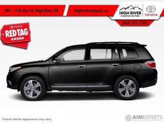 Used 2013 Toyota Highlander 4DR 4WD for sale in High River, AB