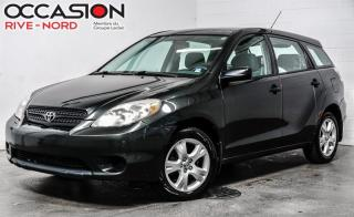Used 2005 Toyota Matrix Manuelle+A/C propre for sale in Boisbriand, QC