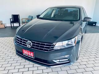 Used 2016 Volkswagen Passat Comfortline I Sunroof I Leather I Alloy for sale in Brampton, ON
