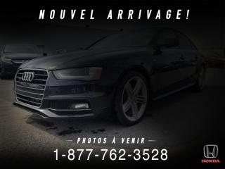 Used 2016 Audi A4 KOMFORT PLUS + QUATTRO + TOIT + WOW! for sale in St-Basile-le-Grand, QC