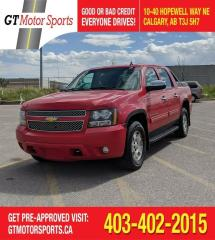 Used 2012 Chevrolet Avalanche LT w/1SB | $0 DOWN - EVERYONE APPROVED! for sale in Calgary, AB