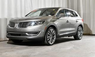 Used 2017 Lincoln MKX RESERVE AWD for sale in Red Deer, AB