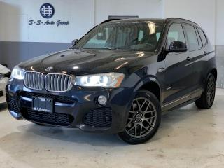 Used 2016 BMW X3 35i M PKG|HUD|NAV|BACK UP|PANO ROOF|ACCIDENT FREE for sale in Oakville, ON