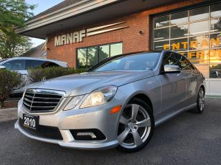 Used 2010 Mercedes-Benz E-Class 4MATIC Navi Panoramic Sunroof Rear Cam Certified* for sale in Concord, ON
