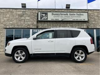 Used 2015 Jeep Compass High Altitude/ Leather /Sunroof/ 4X4 for sale in Calgary, AB