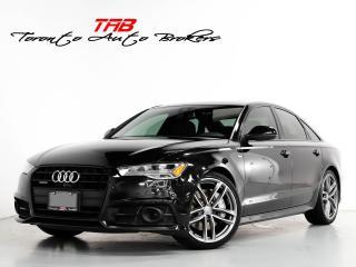 Used 2017 Audi A6 3.0 TECHNIK I BLACK OPTICS I NAV I CLEAN CARFAX for sale in Vaughan, ON