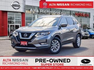 Used 2018 Nissan Rogue SV   Apple Carply   Remote Start   Power Seats for sale in Richmond Hill, ON