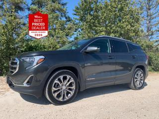 Used 2019 GMC Terrain AWD SLT *APPLE CARPLAY - PANORAMIC - HTD LEATHER* for sale in Winnipeg, MB