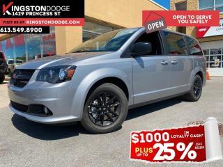 New 2020 Dodge Grand Caravan SXT | Blacktop Package | Navigation | DVD | Rear A for sale in Kingston, ON