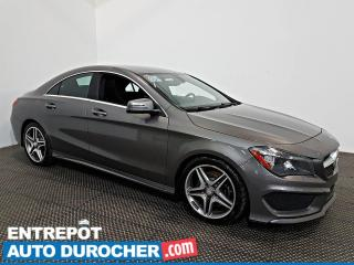 Used 2016 Mercedes-Benz CLA-Class CLA 250 AWD NAVIGATION - A/C - Caméra de Recul for sale in Laval, QC