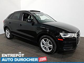 Used 2017 Audi Q3 Komfort AWD TOIT OUVRANT - AIR CLIMATISÉ - Cuir for sale in Laval, QC