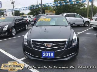 Used 2018 Cadillac ATS Sedan Luxury AWD  - Certified for sale in St Catharines, ON