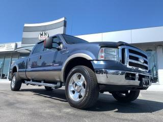 Used 2005 Ford F-350 Lariat FX4 4WD DIESEL LB 6SPD MANUAL LEATHER SUNRO for sale in Langley, BC