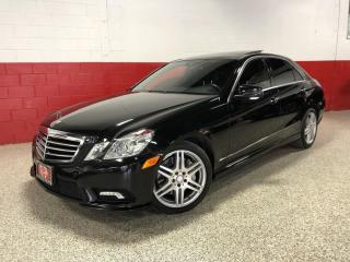 Used 2010 Mercedes-Benz E-Class E550 5.5L 4MATIC AMG NAVI CAMERA PANO-ROOF for sale in North York, ON