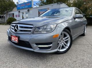 Used 2012 Mercedes-Benz C-Class 4dr Sdn 2.5L 4MATIC ACCIDENT FREE, EXTRA LOW KM CLEAN for sale in Brampton, ON