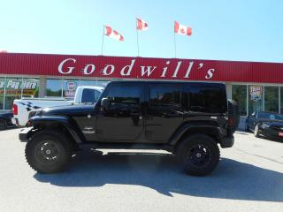 Used 2013 Jeep Wrangler Unlimited UNLIMITED SAHARA! CLEAN CARFAX! HEATED SEATS! NAV! for sale in Aylmer, ON