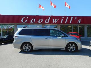 Used 2013 Toyota Sienna SE! CLEAN CARFAX! HEATED LEATHER! BACKUP CAM! for sale in Aylmer, ON