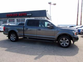 Used 2018 Ford F-150 LARIAT SuperCrew 4WD Ecoboost Navi Camera Certified for sale in Milton, ON
