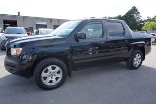 Used 2008 Honda Ridgeline EX-L 4WD CERTIFIED 2YR WARRANTY ENGINE R START SUNROOF HEATED POWER LEATHER ALLOYS AUX for sale in Milton, ON