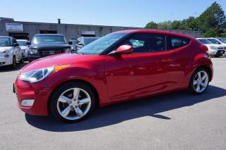 Used 2013 Hyundai Veloster TECH PKG 6SPD CERTIFIED 2YR WARRANTY *1 OWNER* CAMERA BLUETOOTH HEATED ALLOYS PUSH START for sale in Milton, ON