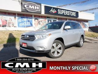 Used 2013 Toyota Highlander Limited  AWD NAV ROOF CAM HTD-SEATS 19-AL for sale in St. Catharines, ON