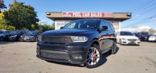 Used 2019 Dodge Durango GT AWD TEXT.US 647.678.7778  AWD LEATHER SUNROOF NAVI CLEAN CARFAX  for sale in Mississauga, ON