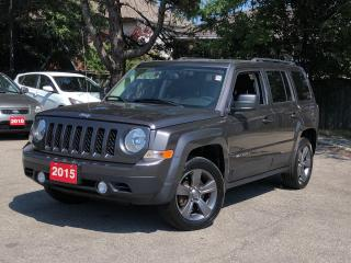 Used 2015 Jeep Patriot High Altitude  LEATHER  SUNROOF  FWD 1 OWNER for sale in Stoney Creek, ON