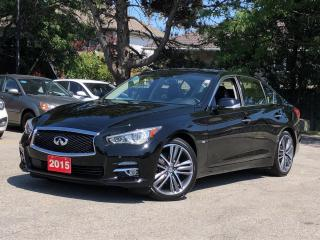 Used 2015 Infiniti Q50 for sale in Stoney Creek, ON