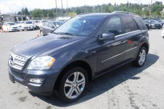 Used 2011 Mercedes-Benz ML-Class ML350 BlueTEC DIESEL for sale in Burnaby, BC