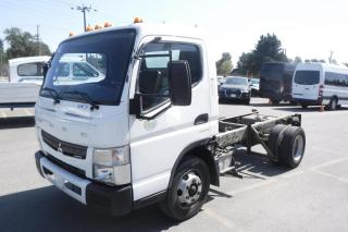 Used 2015 Mitsubishi FUSO FE160 Diesel Dually Cab And Chassis 114 Inch Wheelbase for sale in Burnaby, BC