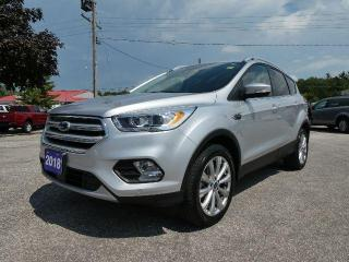 Used 2018 Ford Escape Titanium | Heated Seats | Navigation | Power Lift Gate for sale in Essex, ON
