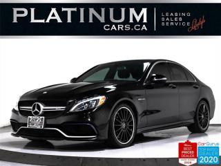 Used 2015 Mercedes-Benz C-Class AMG C63, SEDAN, 469 HP, NAV, PANO, CAM, HEATED for sale in Toronto, ON