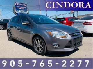 Used 2014 Ford Focus SE, Auto, Heated Seats, Bluetooth, A/C for sale in Caledonia, ON