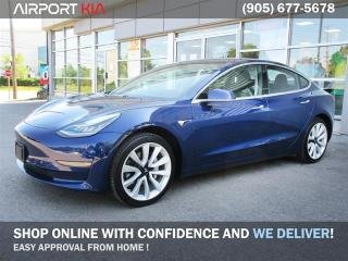 Used 2018 Tesla Model 3 Model 3 Long Range RWD/ Leather/ Panoramic Roof/ Technology package/ Navigation/Internet built in for sale in Mississauga, ON