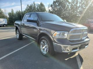 Used 2017 RAM 1500 LARAMIE, CREW CAB, DIESEL 3,0L, TOIT for sale in Vallée-Jonction, QC