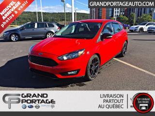 Used 2016 Ford Focus Hayon 5 portes SE for sale in Rivière-Du-Loup, QC