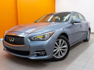 Used 2014 Infiniti Q50 PREMIUM AWD *TOIT* NAVI *SIEGES CHAUFF* USB *PROMO for sale in St-Jérôme, QC