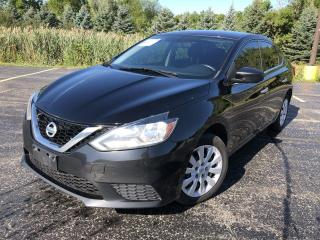 Used 2017 Nissan Sentra S 2WD for sale in Cayuga, ON