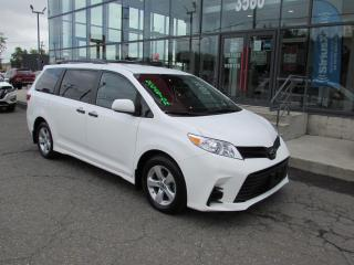 Used 2020 Toyota Sienna CE 7 places CAMÉRA*MAIN LIBRE for sale in Lévis, QC