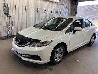 Used 2015 Honda Civic 4dr Auto LX  $54.93 PAR SEMAINE+TAXES for sale in St-Raymond, QC