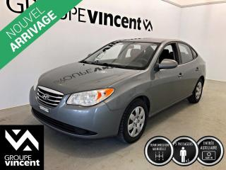 Used 2010 Hyundai Elantra L ** MANUELLE ** Parfait pour petit budget! for sale in Shawinigan, QC