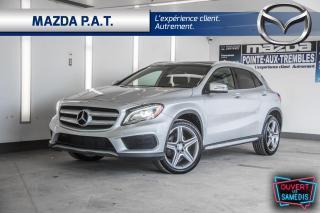 Used 2017 Mercedes-Benz GLA AWD,NAVIGATION,CUIR,TOIT OUVRANT,CAMÉRA DE RECUL for sale in Montréal, QC