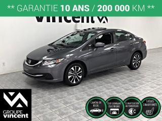 Used 2015 Honda Civic EX ** GARANTIE 10 ANS ** Réputée berline aux desing inovateur! for sale in Shawinigan, QC