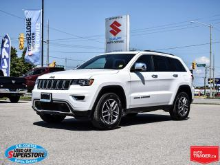 Used 2019 Jeep Grand Cherokee Limited 4x4 ~Nav ~Backup Cam ~Heated Leather ~Roof for sale in Barrie, ON